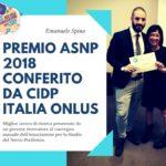Premio ASNP 2018, il vincitore
