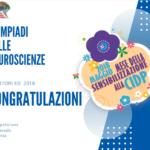 Olimpiadi delle Neuroscienze 2018: il vincitore