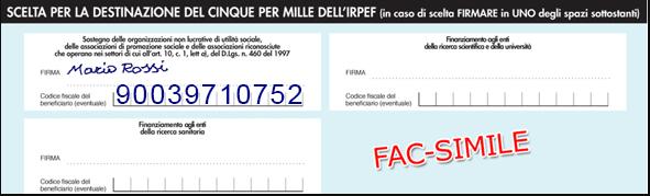 Dona il 5x1000 a CIDP Italia ONLUS