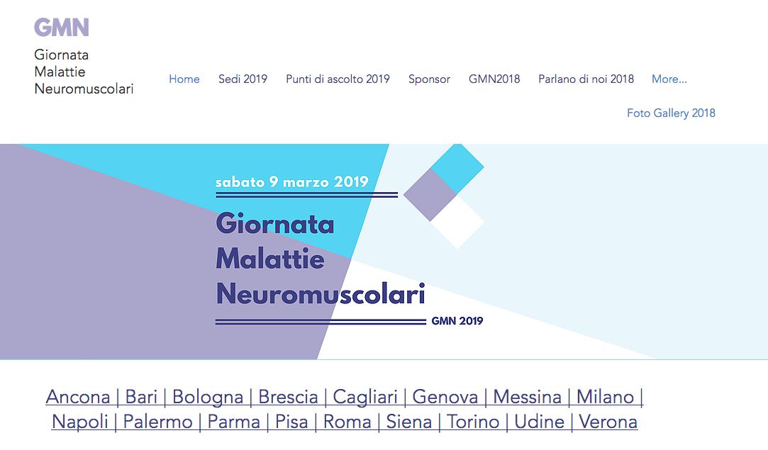 Giornata Malattie Neuromuscolari 2019