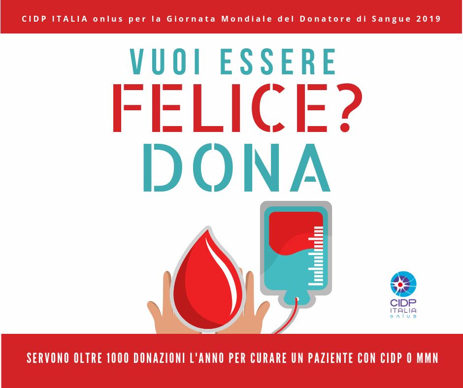 poster campagna pro donazioni sangue e plasma