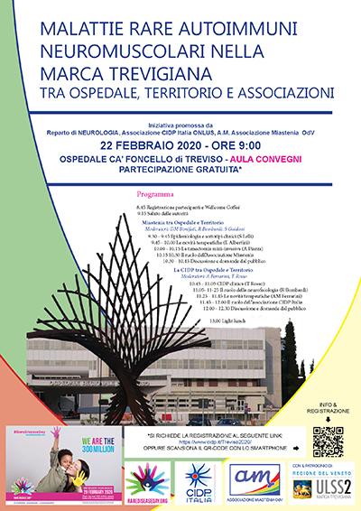 volantino programma conferenza cidp italia