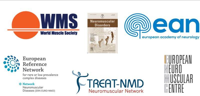 loghi società scientifiche e istituzioni neuro muscolari